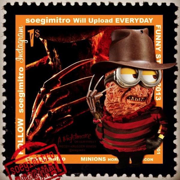 Minions Halloween: Freddy Krueger