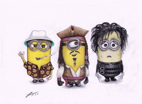 Minions Johnny Depp
