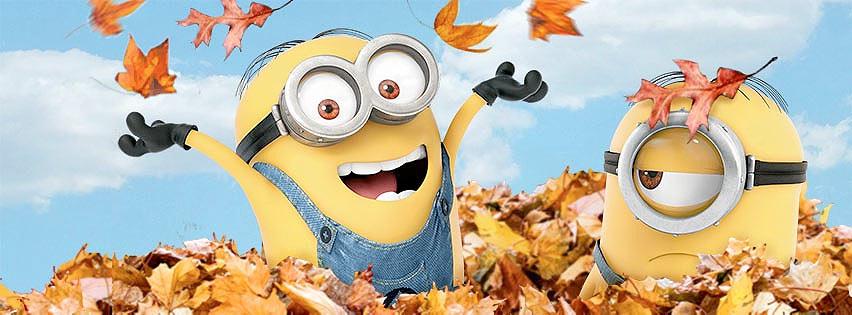 Minions en otoño