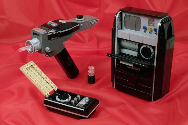 Objetos de Star Trek hechos con LEGO