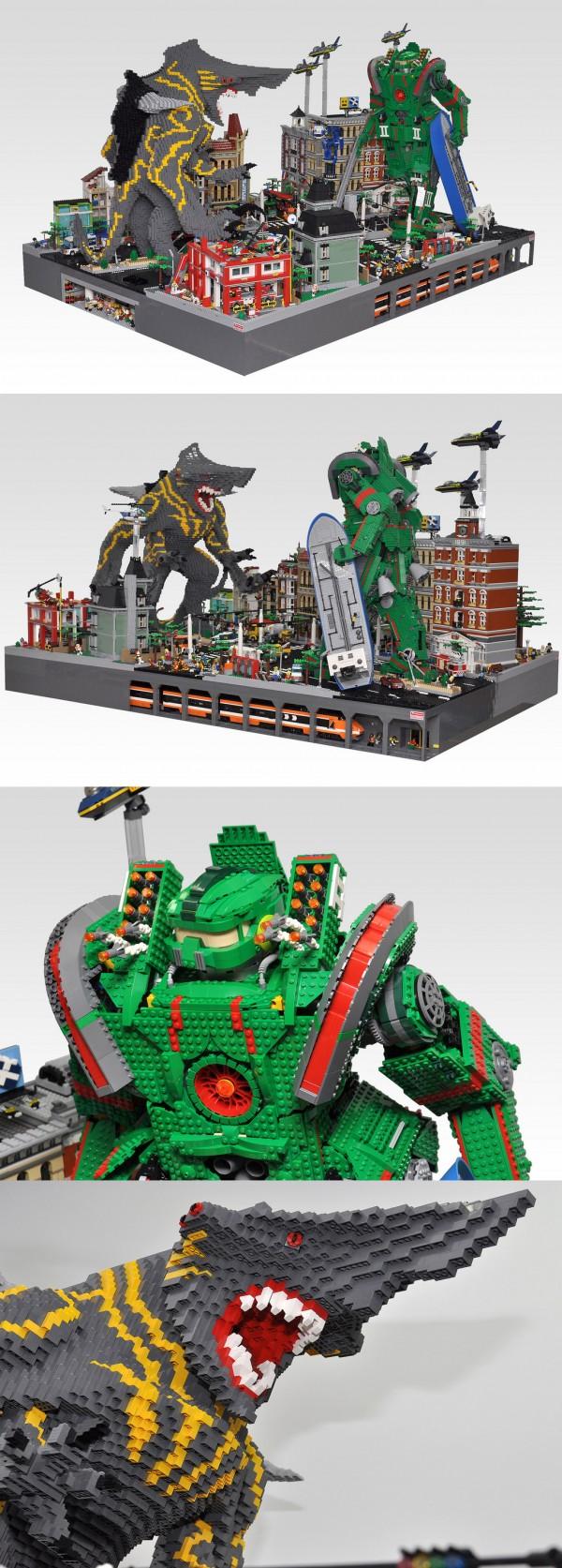 Pacific Rim en LEGO