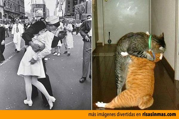 Parecidos razonables: El beso de Times Square