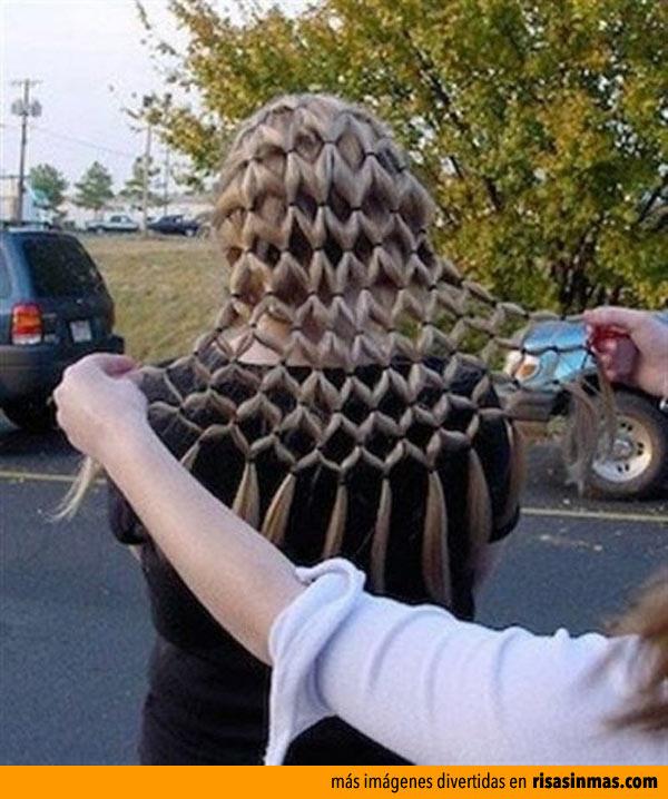 Peinado rejilla