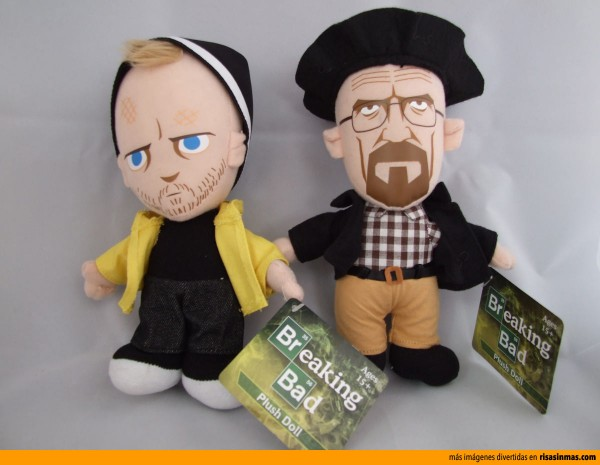Peluches de Breaking Bad, Walter y Jesse