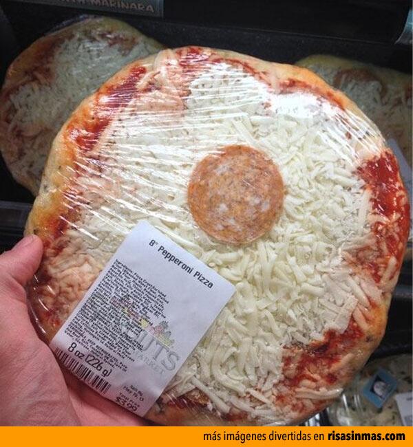 Pizza de UN pepperoni