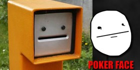 Poker face en la vida real