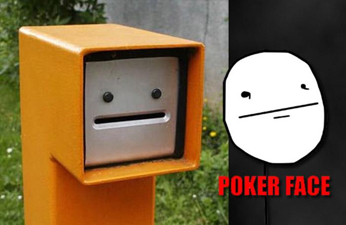Poker face en la vida real