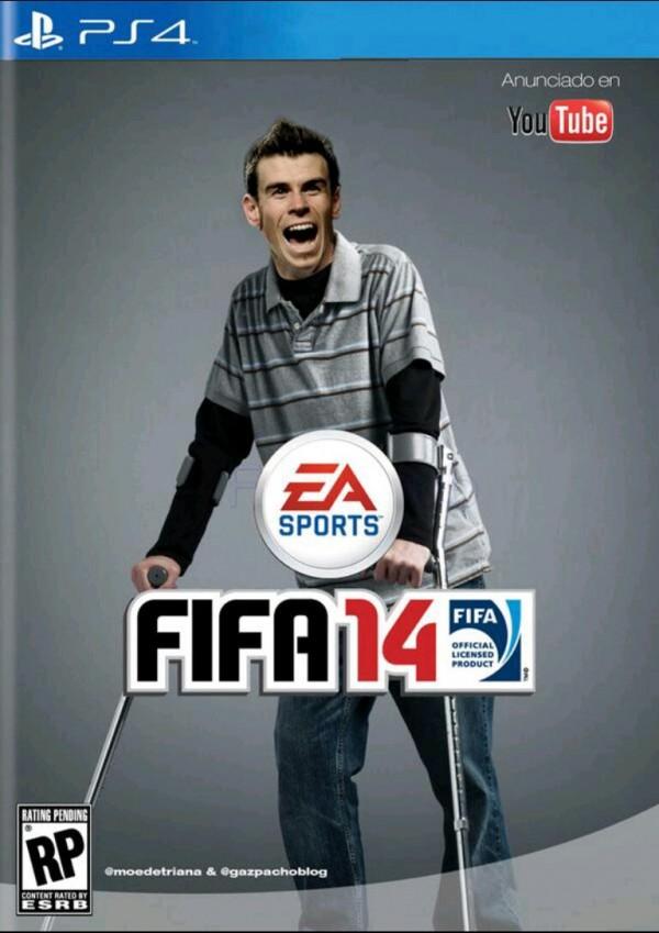 Portada del FIFA14 de PS4