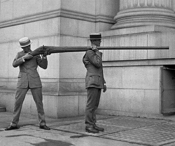 Primeras armas de destrucción masiva