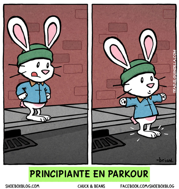 Principiante en parkour
