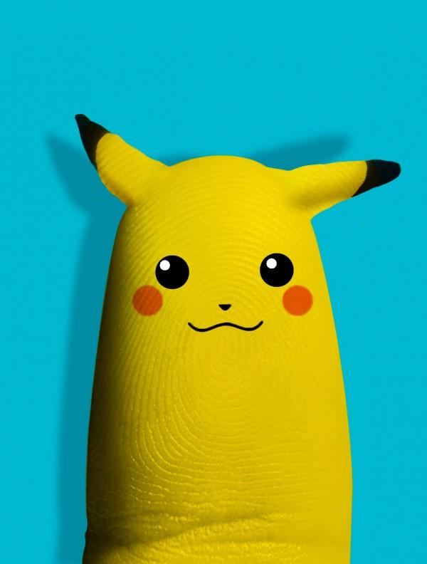 Pulgar Pikachu