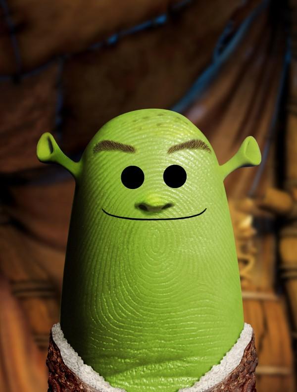 Pulgares célebres: Shrek