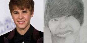 Retrato de Justin Bieber
