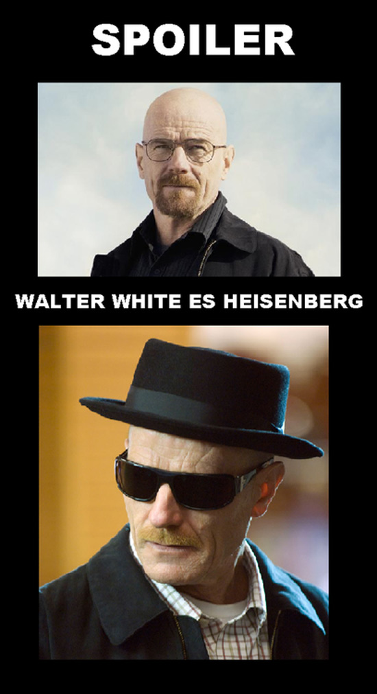 Spoiler de Breaking Bad