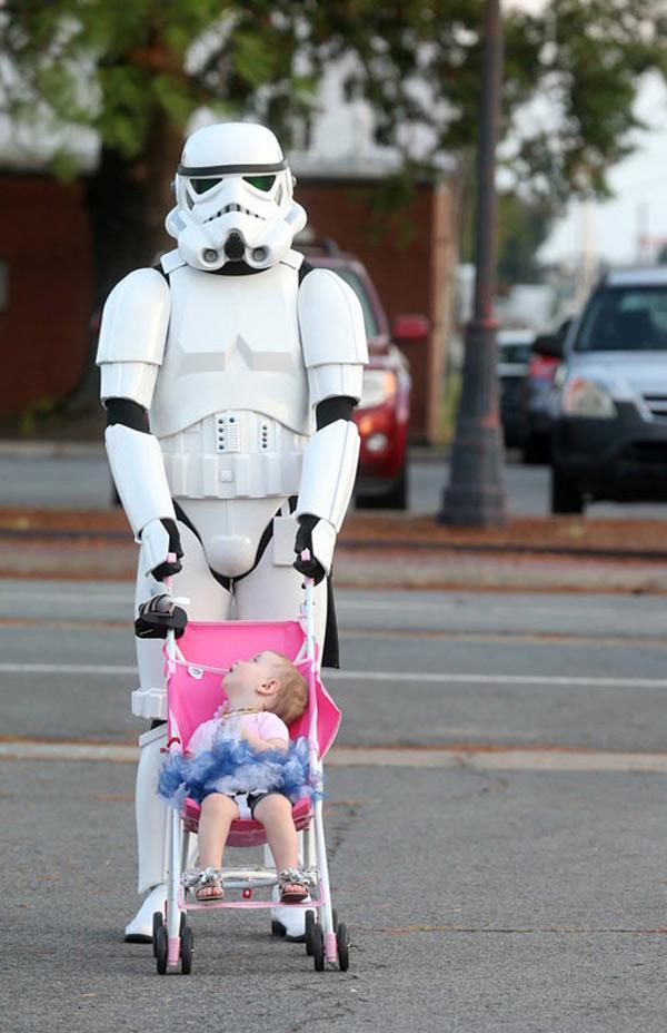 Stormtrooper y buen padre