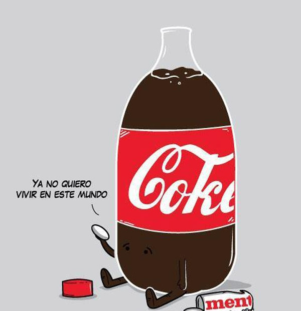 Suicidio de una Coca-Cola