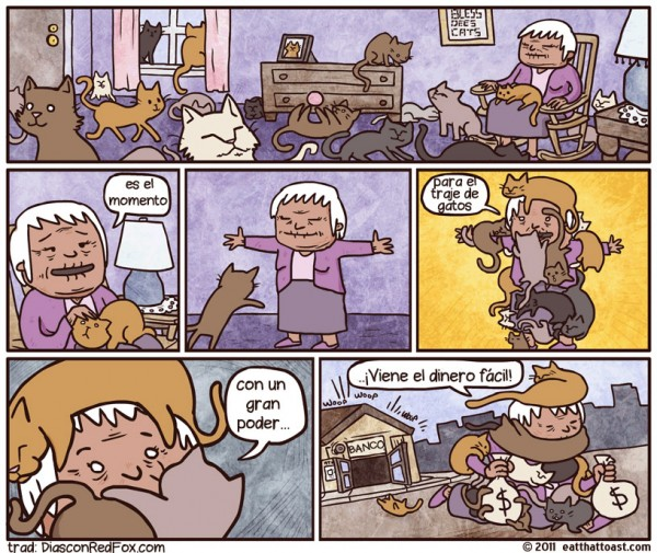 Superpoderes: traje de gatos