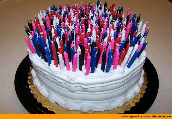 Tarta de cumpleaños de Jordi Hurtado