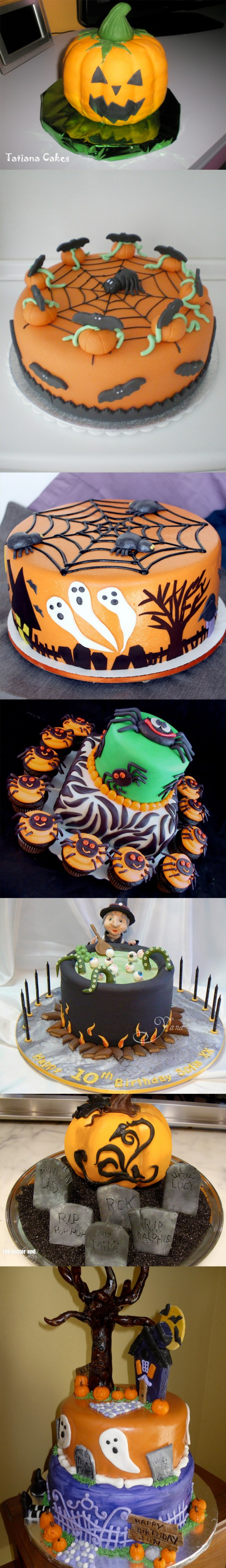 Tartas para Halloween