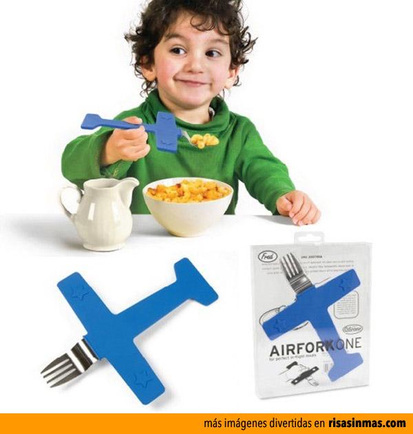 Tenedor Avión