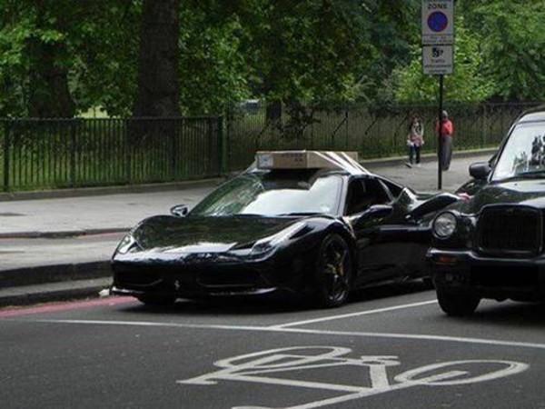 Tener un Ferrari para esto