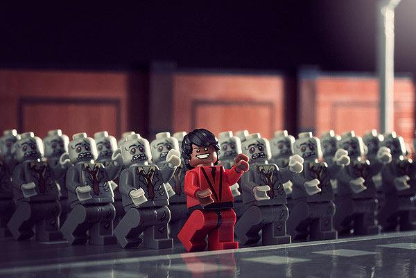 Thriller versión LEGO