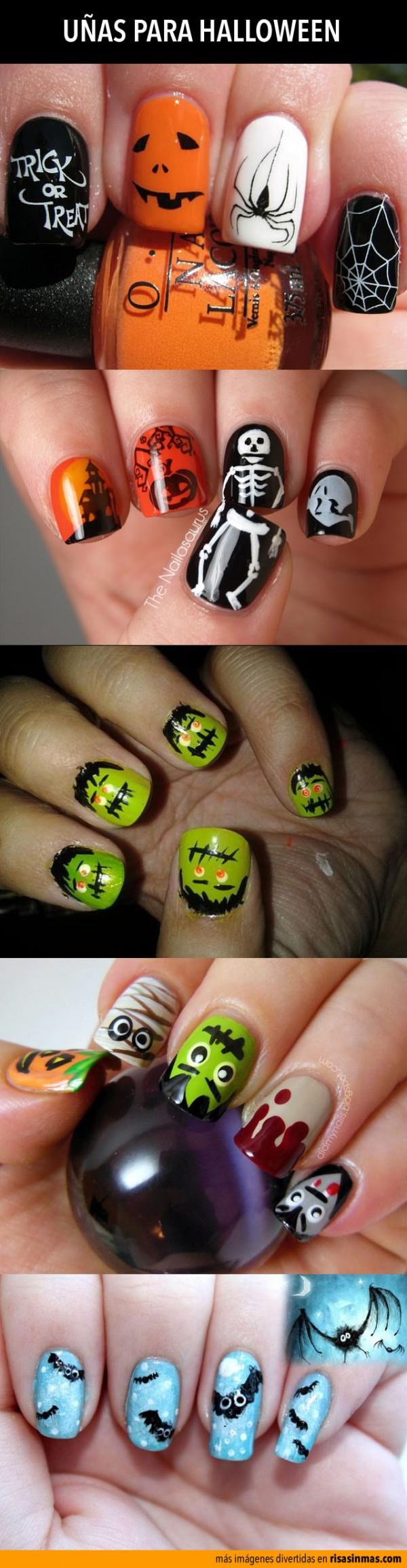 Uñas para Halloween