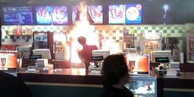 ¡Una ración de patatas flambeadas!