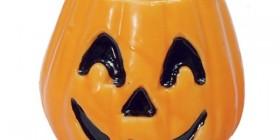 Vela calabaza para halloween