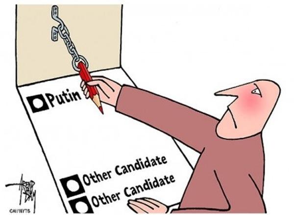 Votaciones en Rusia