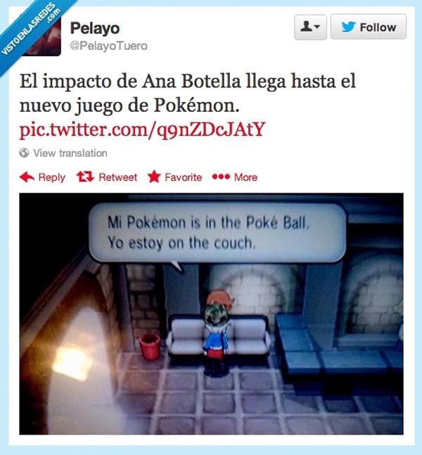 La influencia de Ana Botella en Pokémon