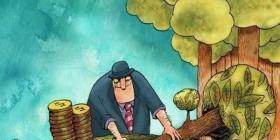 Convirtiendo árboles en monedas