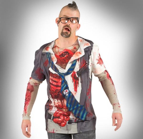 Conviértete en zombie con esta camiseta