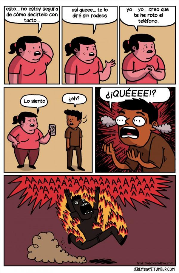 Causas de la combustión espontánea