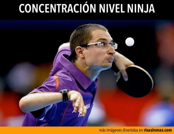 Concentración nivel ninja