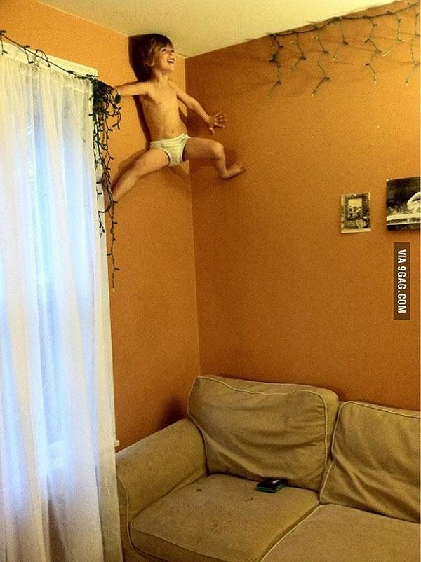 Creo que mi hijo es Spiderman