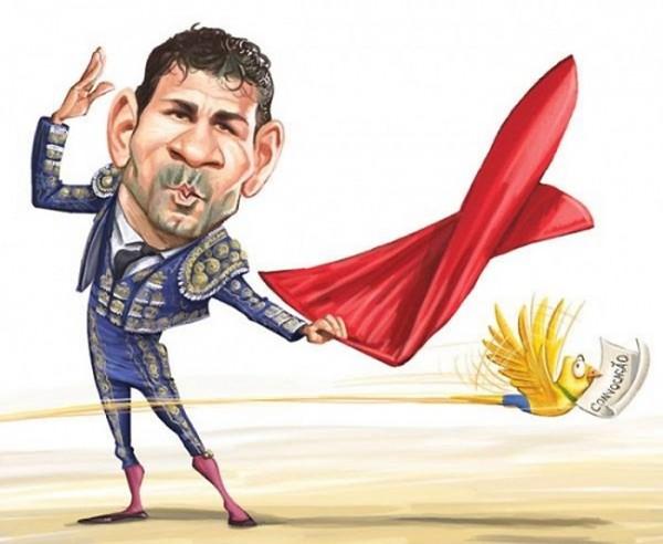 Diego Costa elige a España