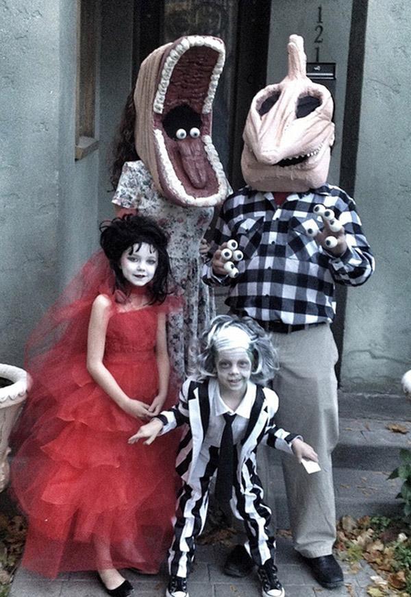 La familia que asusta unida