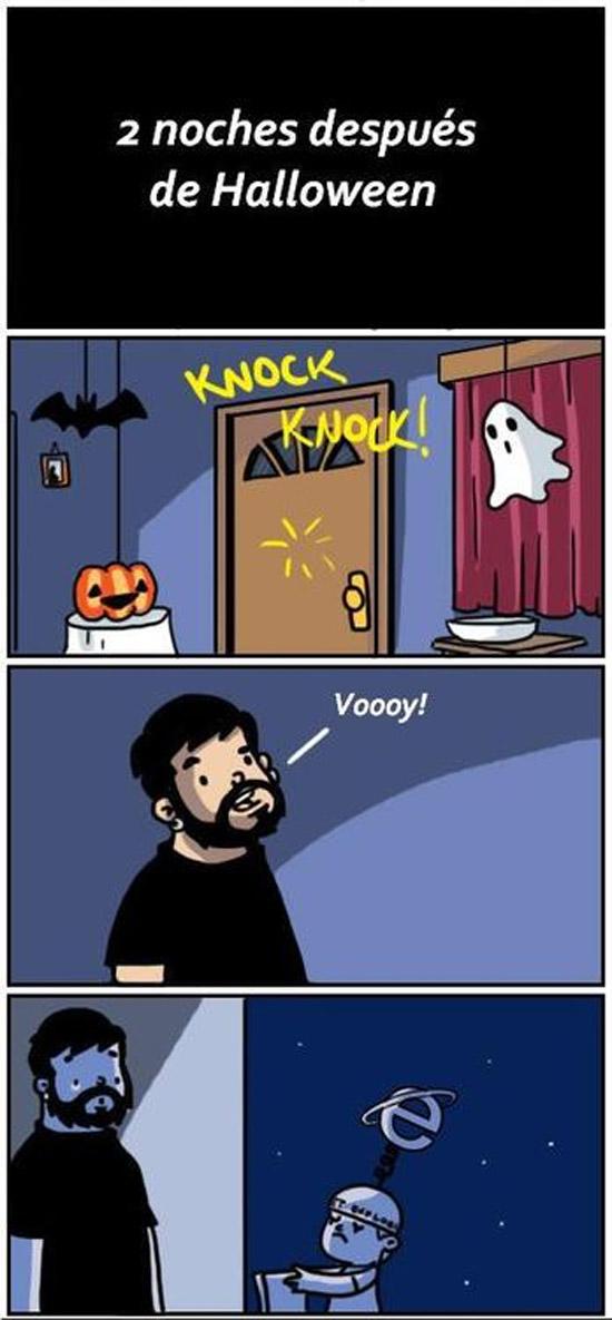 Dos noches después de Halloween