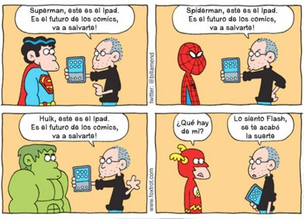 El futuro de los cómics