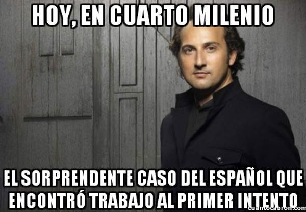El español que encontró trabajo