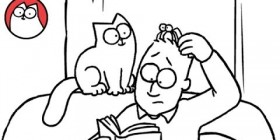 Episodio especial Hallowen del gato de Simon
