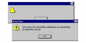 Error en Windows