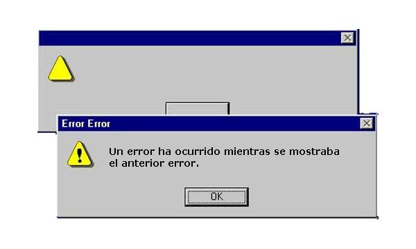 Error en Windows