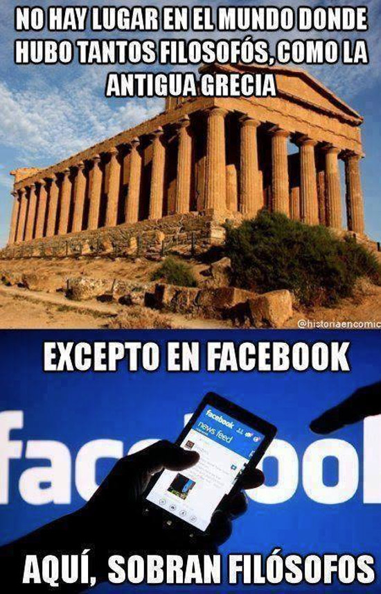 Filósofos del Facebook