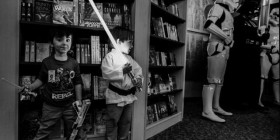 Entrenamiento de futuros Jedi