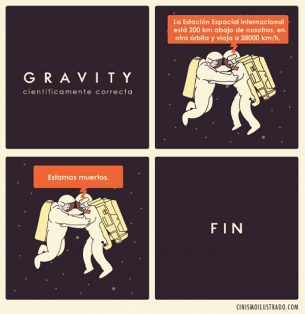 Gravity científicamente correcta
