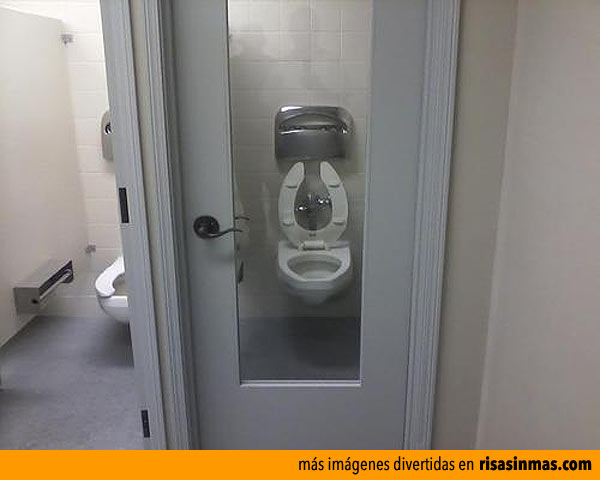 Ideas Para Puertas De Baño:Ideas geniales: baño con puerta de cristal