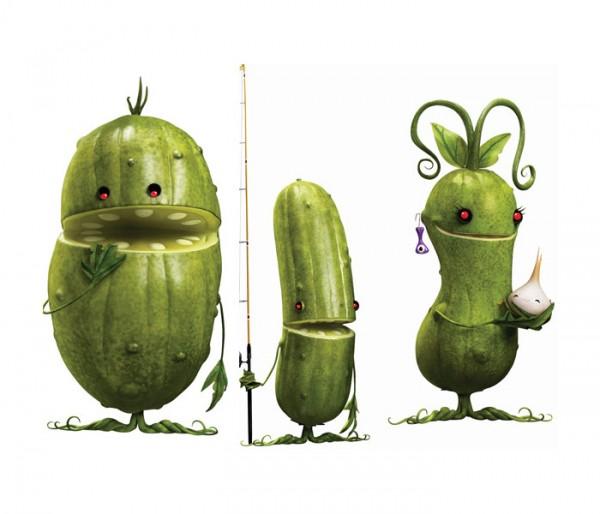 La familia verdura