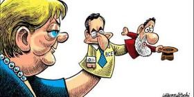 Marionetas en manos de Merkel